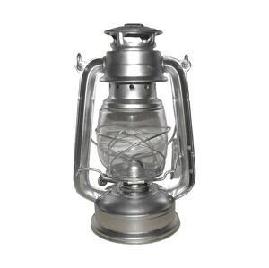 Rosler Petrolejová lampa 24 cm strieborná