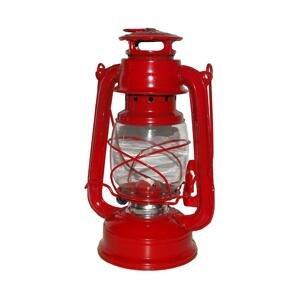Rosler Petrolejová lampa 24 cm červená