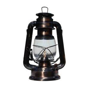 Rosler Petrolejová lampa 24 cm meď