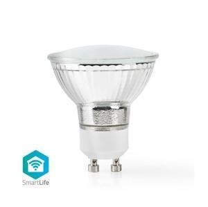 Nedis WiFi žiarovka LED GU10 4.5W biela teplá WIFILW11CRGU10 SMARTLIFE