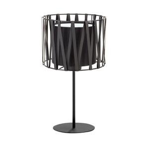 TK Lighting Stolná lampa HARMONY BLACK 1xE27/60W/230V