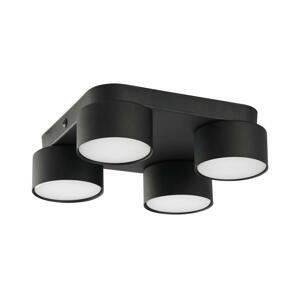 TK Lighting Stropné svietidlo SPACE 4xGX53/15W/230V čierna