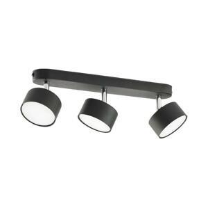 TK Lighting Bodové svietidlo CLARK 3xGX53/10W/230V čierna