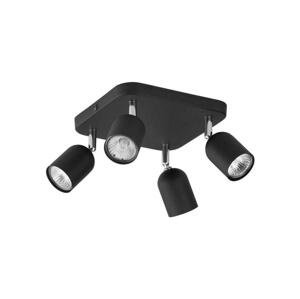 TK Lighting Bodové svietidlo TOP 4xGU10/10W/230V čierna