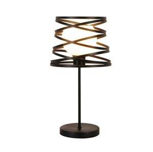 Candellux Stolná lampa AKITA 1xE14/40W/230V čierna
