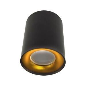 BOWI Bodové svietidlo CYRO 1xGU10/30W/230V čierna/zlatá