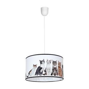 Milagro Luster na lanku CATS 1xE27/60W/230V