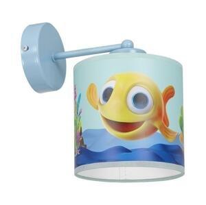 Milagro Detské nástenné svietidlo FISH 1xE27/60W/230V
