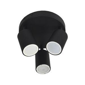 BOWI Bodové svietidlo FARGO 3xGU10/30W/230V čierna