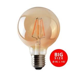 Brilum LED Žiarovka LEDSTAR AMBER G95 E27/8W/230V 2200K