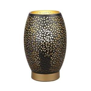 Candellux Stolná lampa Venus 1xE27/60W/230V čierna/zlatá