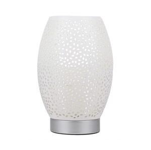Candellux Stolná lampa VENUS 1xE27/60W/230V biela/strieborná