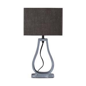 Candellux Stolná lampa FEMO 1xE14/40W/230V šedá/hnedá