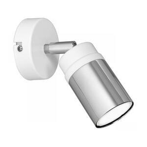 Luminex Nástenné bodové svietidlo NEST 1xGU10/8W/230V biela/chróm