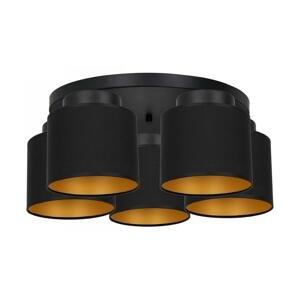 Luminex Prisadený luster FRODI 5xE27/60W/230V čierna