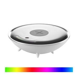 Platinet LED RGB Stmievateľná stolná lampa s bezdrôtovým nabíjaním LED/10W/230V