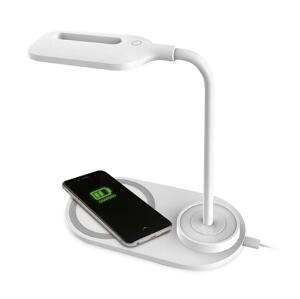 Platinet LED Stolná lampa LED/3W/5V s bezdrôtovým nabíjaním biela