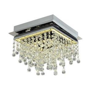Auhilon LED Krištáľové stropné svietidlo MORENO LED/22W/230V