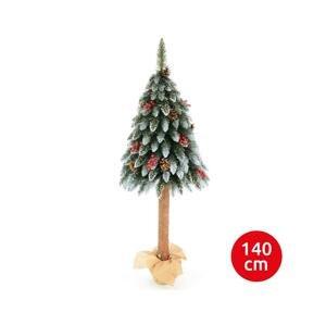 Erbis Vianočný stromček WOOD TRUNK 140 cm jedľa
