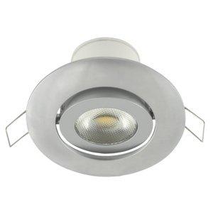 Nedes LED podhľadové svietidlo náklopné LED/7W/230V strieborná