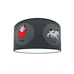 Lampdar Detské stropné svietidlo DOGS 2xE27/60W/230V