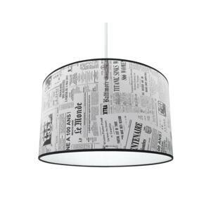 Lampdar Luster 1xE27/60W/230V noviny