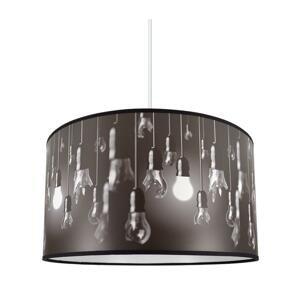 Lampdar Luster na lanku BULBS 1xE27/60W/230V