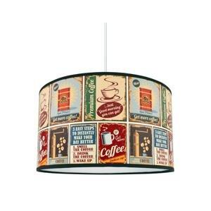 Lampdar Luster na lanku COFFEE 1xE27/60W/230V