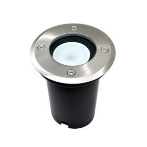 BOWI LED Vonkajšie nájazdové svietidlo 1xGU10/6W/230V IP67 matný chróm