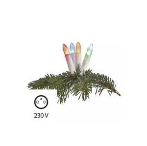 EMOS LED RGB Vonkajšia vianočná reťaz 20xLED/1,2W/230V IP44