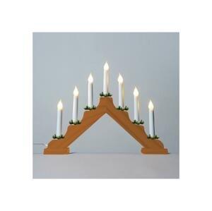Exihand LED Vianočný svietnik FILAMENT 7xLED/0,2W/230V
