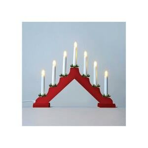 Exihand LED Vianočný svietnik 7xLED/0,2W/230V