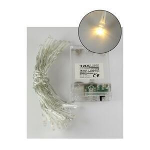 Baterie centrum LED Vianočná reťaz 2,4 m 20xLED/3xAA 2700 K
