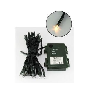 Baterie centrum LED Vianočná vonkajšia reťaz 10,8 m 100xLED/3xAA 2700 K IP44