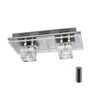 Karwei LED RGB Stmievateľné stropné svietidlo SELIN 12xLED/0,06W/230V + 2xG4/20W + DO