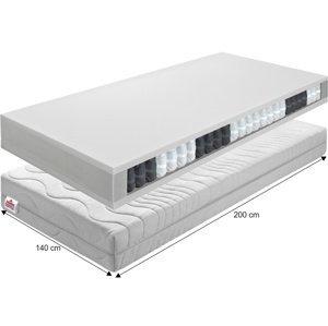 Pružinový matrac BE TEXEL ALERGIK NEW Tempo Kondela 140x200 cm