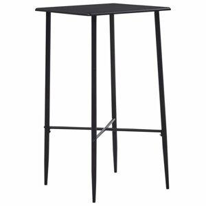 Barový stôl 60x60cm Dekorhome Čierna