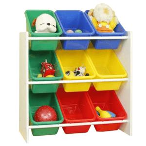 Regál na hračky KIDO TYP 2 Tempo Kondela