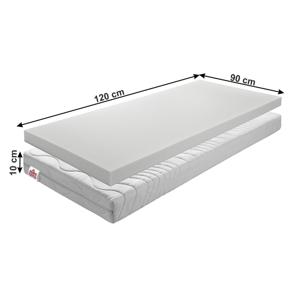 Detský penový matrac BE ELISSE Tempo Kondela 90 x 120 cm