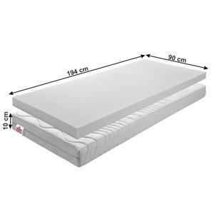 Detský penový matrac BE ELISSE Tempo Kondela 90 x 194 cm
