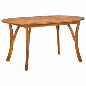 Záhradný stôl 150 x 90 cm hnedá Dekorhome