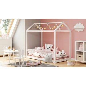 Detská posteľ YOGI 80x160 cm Halmar Biela