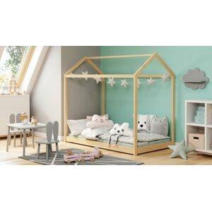 Detská posteľ YOGI 80x160 cm Halmar Borovica