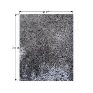Shaggy koberec KAVALA sivý Tempo Kondela 80x150 cm