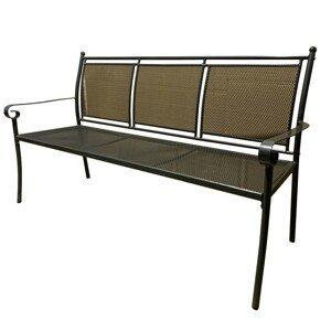 Záhradná lavička ZWMC-29 čierna Rojaplast