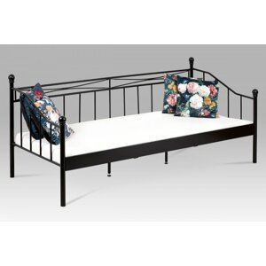 Posteľ 90x200cm BED-1905 BK čierna Autronic