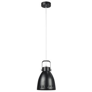 Závesná lampa AIDEN TYP 3 kov Tempo Kondela Čierna