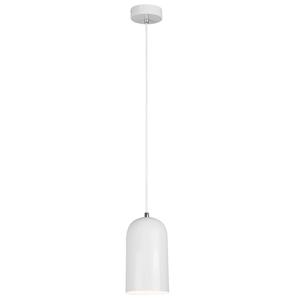 Závesná lampa LUKEN kov Tempo Kondela Biela