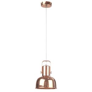 Závesná lampa AVIER TYP 3 kov Tempo Kondela Ružové zlato