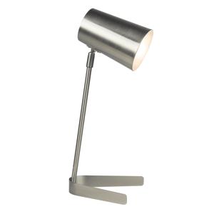 Stolná lampa FABEL kov Tempo Kondela Strieborná